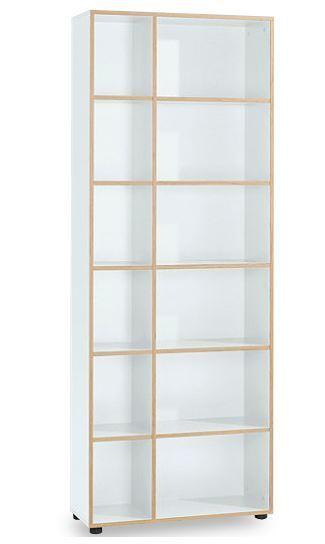 reinhard oslo regal hoch wei art office shop. Black Bedroom Furniture Sets. Home Design Ideas