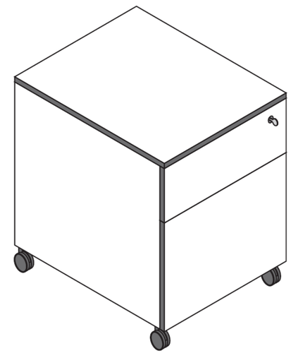 Reinhard coco Rollcontainer 2S