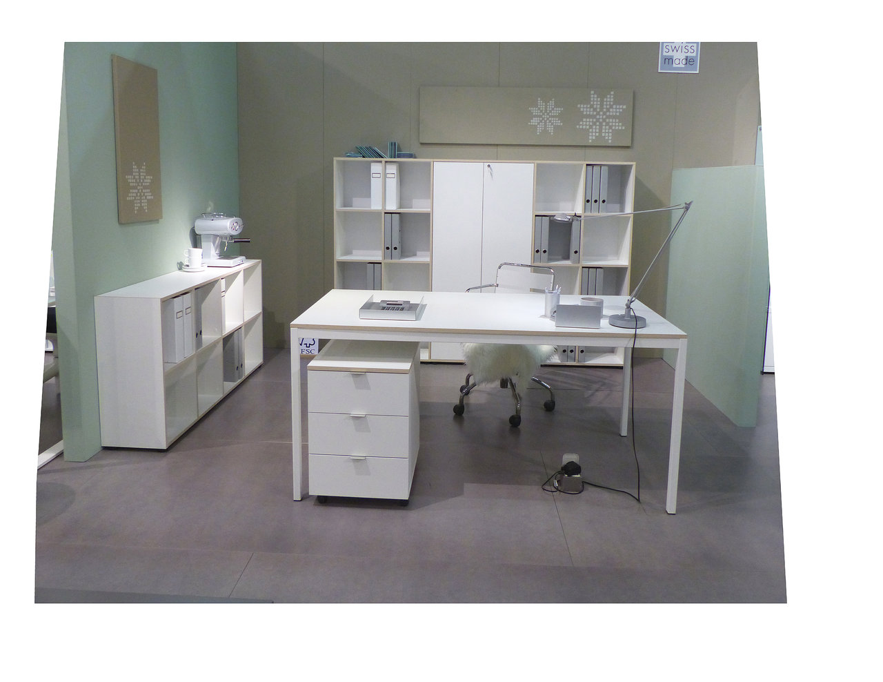 Reinhard eco schreibtisch 130 68 art office shop for Schreibtisch 130