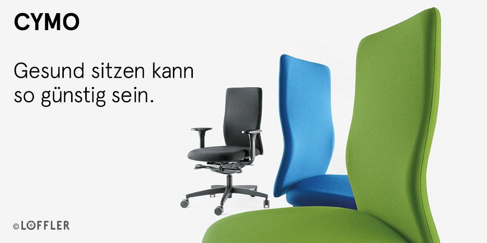 Löffler Cymo 1550 Bürodrehstuhl - Art & Office Shop