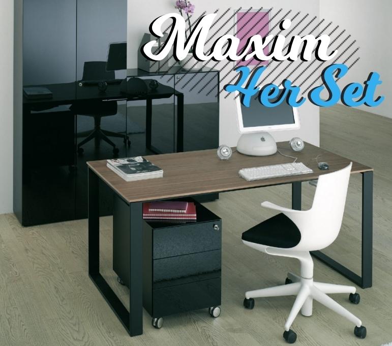 Reinhard Maxim Büromöbel 4er Set Art Office Shop