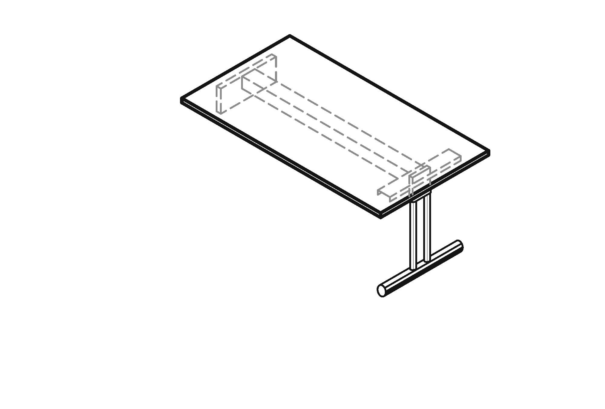 Schreibtisch zur auflage n art office shop for Sideboard zeichnung