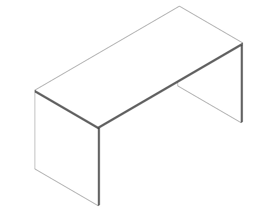 Schreibtisch skizze  Reinhard coco Wangenschreibtisch - Art & Office Shop