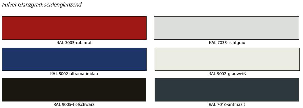 Farben-standard-gestell