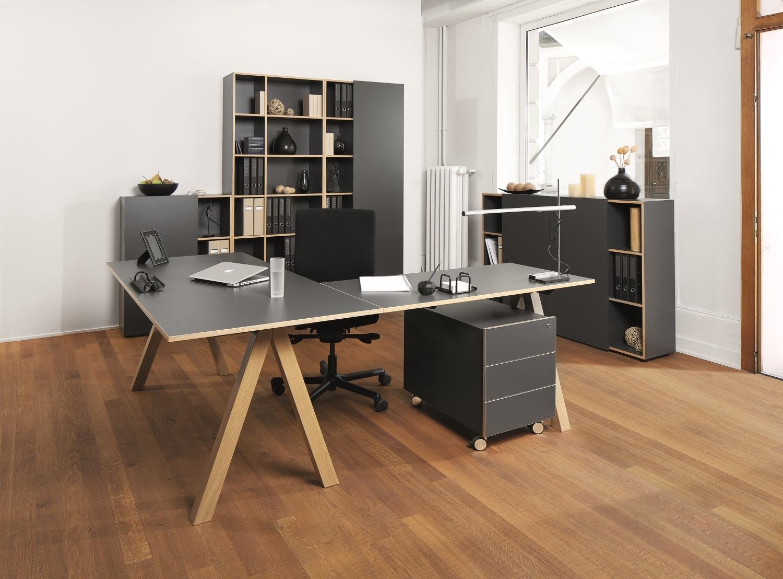 Reinhard Oslo Buromobel 8er Set Art Office Shop